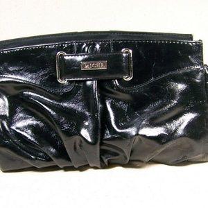 Miche Shiny Black Handbag Purse Outer Shell Magnet